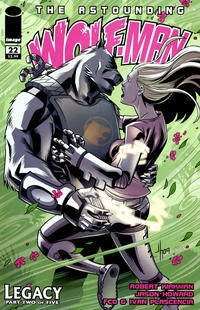 Cover Thumbnail for The Astounding Wolf-Man (Image, 2007 series) #22