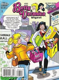 Cover Thumbnail for Betty and Veronica Comics Digest Magazine (Archie, 1983 series) #203