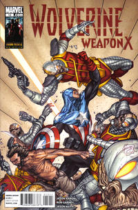 Cover Thumbnail for Wolverine Weapon X (Marvel, 2009 series) #12