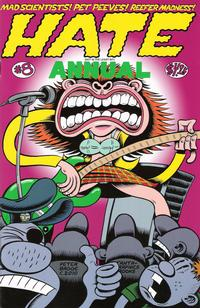 Cover Thumbnail for Hate Annual (Fantagraphics, 2001 series) #8