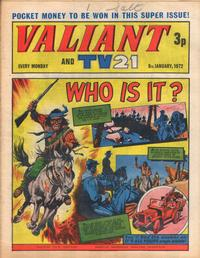 Cover for Valiant and TV21 (IPC, 1971 series) #8th January 1972