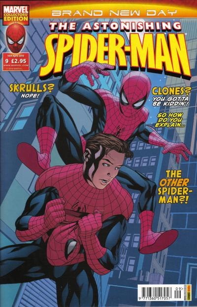 Cover for Astonishing Spider-Man (Panini UK, 2009 series) #9