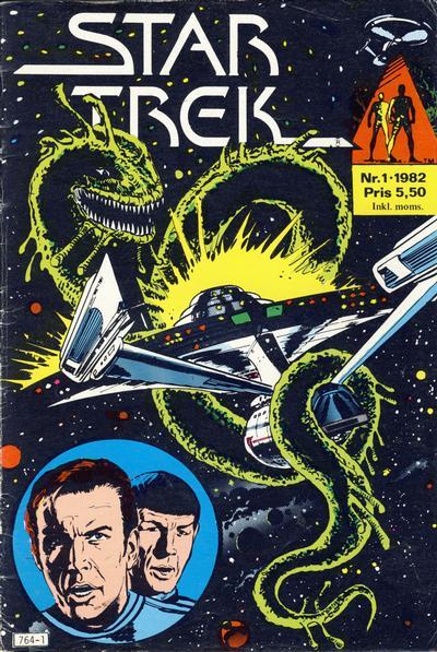 Cover for Star Trek (Atlantic Forlag, 1981 series) #1/1982