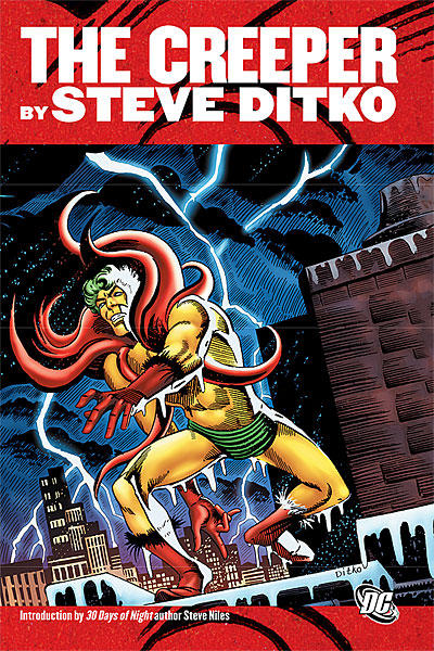 Cover for The Creeper by Steve Ditko (DC, 2010 series)
