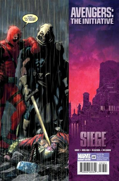 Cover for Avengers: The Initiative (Marvel, 2007 series) #33