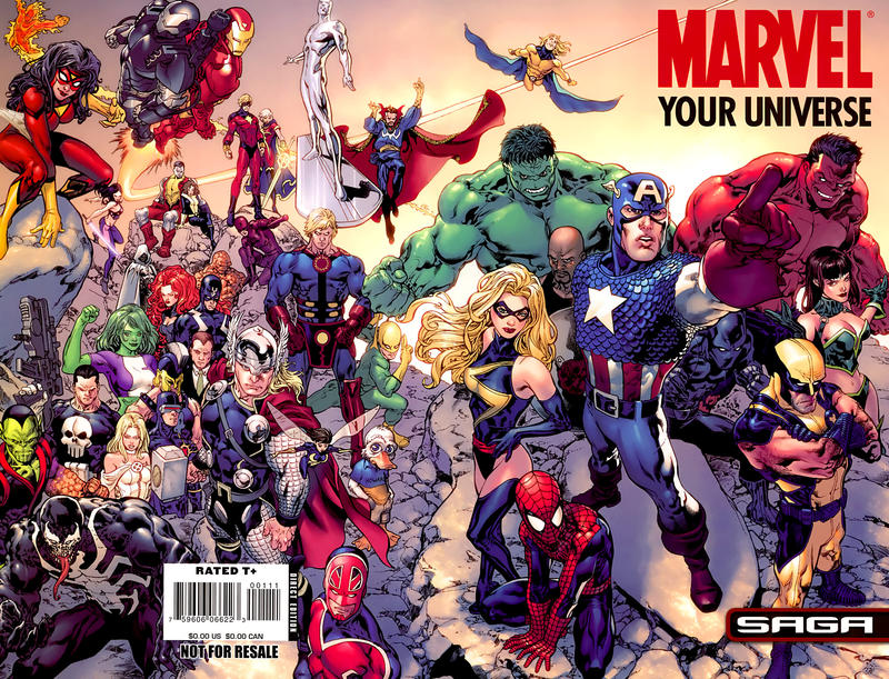 Cover for Marvel: Your Universe Saga (Marvel, 2008 series)