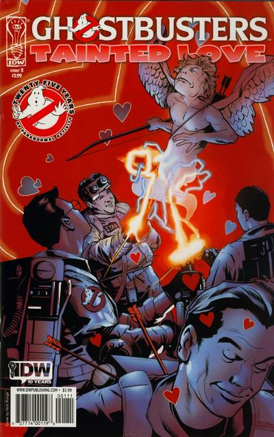 Cover for Ghostbusters: Tainted Love (IDW, 2010 series)  [Cover B]
