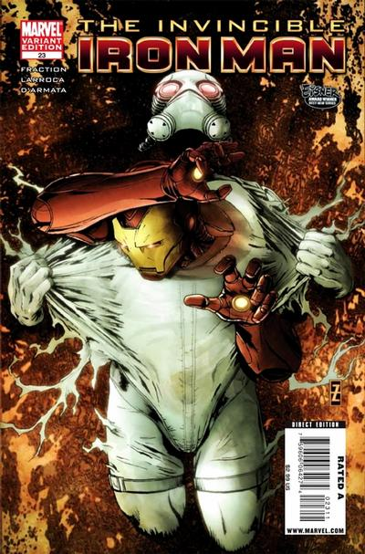Cover for Invincible Iron Man (Marvel, 2008 series) #23 [Variant Edition]