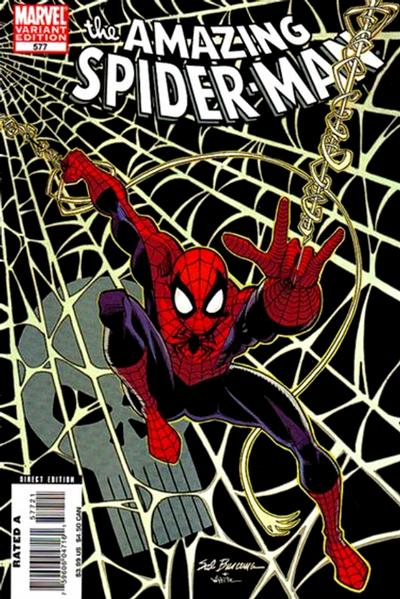 Cover for The Amazing Spider-Man (Marvel, 1999 series) #577 [Direct Edition]