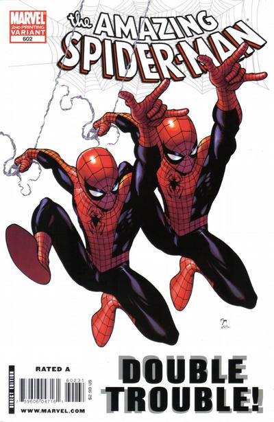 Cover for The Amazing Spider-Man (Marvel, 1999 series) #602