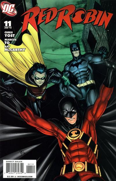 Cover for Red Robin (DC, 2009 series) #11