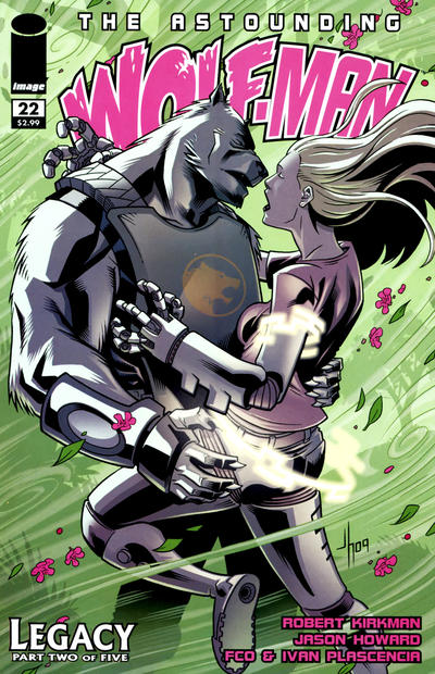 Cover for The Astounding Wolf-Man (Image, 2007 series) #22
