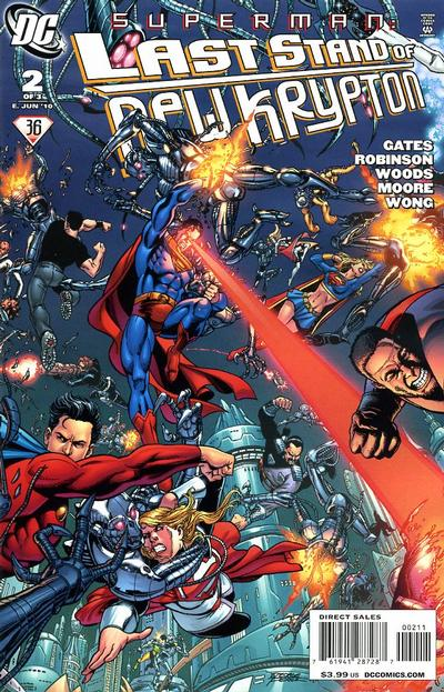 Cover for Superman: Last Stand of New Krypton (DC, 2010 series) #2