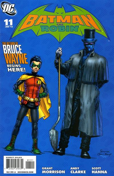 Cover for Batman and Robin (DC, 2009 series) #11