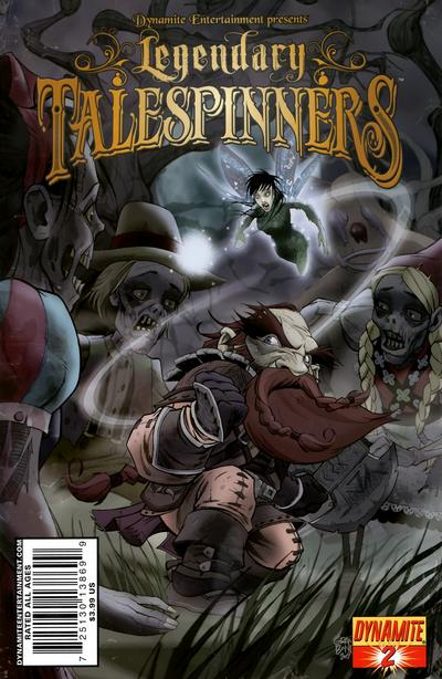 Cover for Legendary Talespinners (Dynamite Entertainment, 2010 series) #2