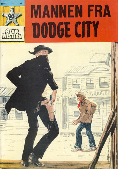 Cover for Star Western (Illustrerte Klassikere / Williams Forlag, 1964 series) #4