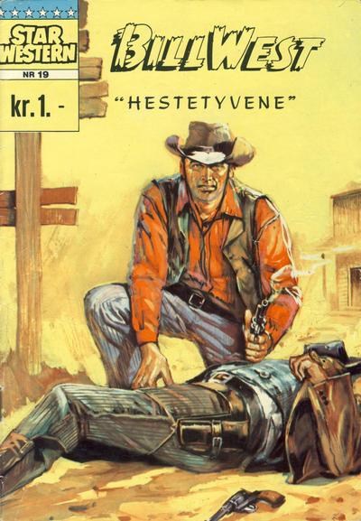 Cover for Star Western (Illustrerte Klassikere / Williams Forlag, 1964 series) #19