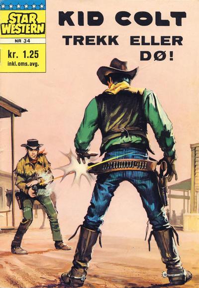 Cover for Star Western (Illustrerte Klassikere / Williams Forlag, 1964 series) #34