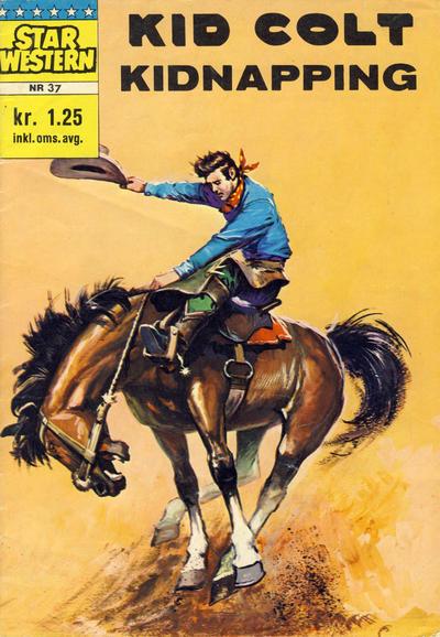 Cover for Star Western (Illustrerte Klassikere / Williams Forlag, 1964 series) #37