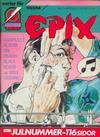 Cover for Epix (Epix, 1984 series) #12/1987