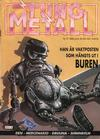 Cover for Tung metall (Epix, 1986 series) #5/1989 [38]