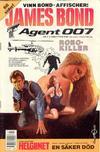 Cover for James Bond (Semic, 1965 series) #7/1988