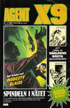 Cover for Agent X9 (Semic, 1971 series) #7/1984