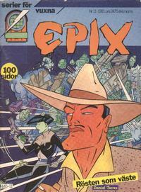 Cover Thumbnail for Epix (Epix, 1984 series) #11/1985