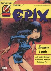 Cover Thumbnail for Epix (Epix, 1984 series) #9/1986