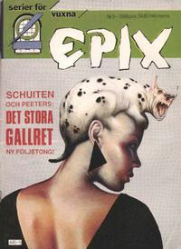 Cover Thumbnail for Epix (Epix, 1984 series) #9/1988 (53)