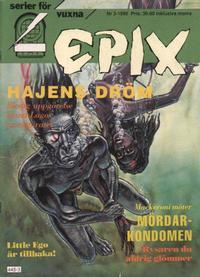 Cover Thumbnail for Epix (Epix, 1984 series) #3/1990 [71]