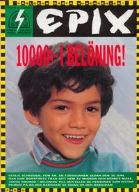 Cover Thumbnail for Epix (Epix, 1984 series) #9/1990 [fotoomslag]