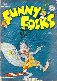Cover Thumbnail for Funny Folks (DC, 1946 series) #6