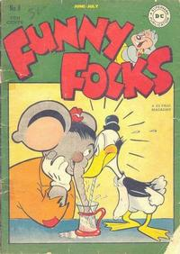 Cover Thumbnail for Funny Folks (DC, 1946 series) #8
