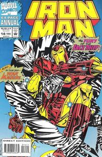 Cover Thumbnail for Iron Man Annual (Marvel, 1976 series) #14 [Direct]