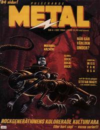 Cover Thumbnail for Pulserande metal (K. G. Jönsson, 1984 series) #4/1984