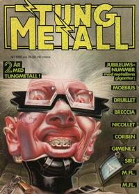 Cover Thumbnail for Tung metall (Epix, 1986 series) #1/1988 [25]