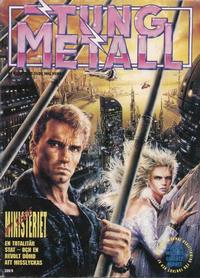 Cover Thumbnail for Tung metall (Epix, 1986 series) #9/1989 (42)