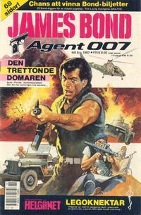 Cover Thumbnail for James Bond (Semic, 1965 series) #6/1987