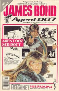 Cover Thumbnail for James Bond (Semic, 1965 series) #12/1987