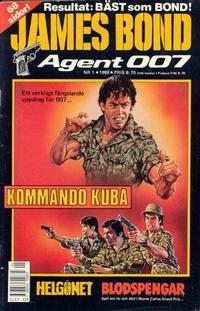 Cover Thumbnail for James Bond (Semic, 1965 series) #1/1988