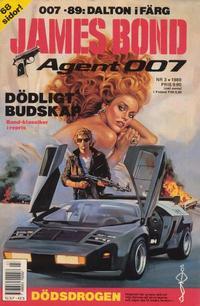 Cover Thumbnail for James Bond (Semic, 1965 series) #3/1989