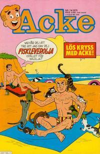 Cover Thumbnail for Acke (Semic, 1969 series) #7/75