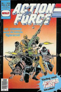 Cover Thumbnail for Action Force (SatellitFörlaget, 1988 series) #1/1988