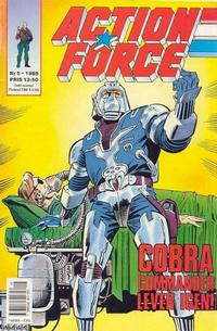 Cover Thumbnail for Action Force (SatellitFörlaget, 1988 series) #5/1989