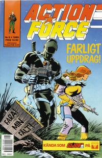 Cover Thumbnail for Action Force (SatellitFörlaget, 1988 series) #8/1989