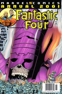 Cover Thumbnail for Fantastic Four 2001 (Marvel, 2001 series)