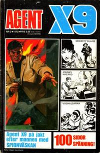 Cover Thumbnail for Agent X9 (Semic, 1971 series) #2/1972