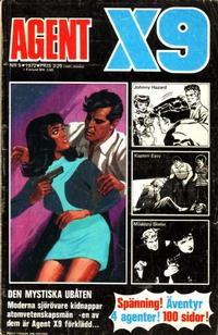 Cover Thumbnail for Agent X9 (Semic, 1971 series) #5/1972