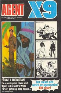 Cover Thumbnail for Agent X9 (Semic, 1971 series) #6/1972